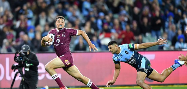Rookie monsters: Half-time talk fires new-look Maroons to Blues boilover