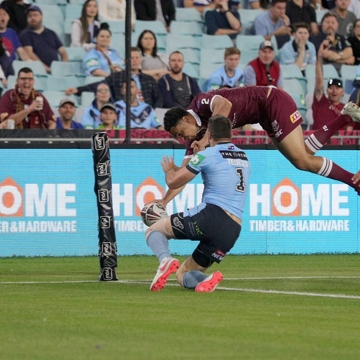 Coates' acrobatic effort voted Try of Origin