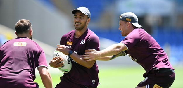 Holmes coming back at ideal time as Maroons tinker with squad