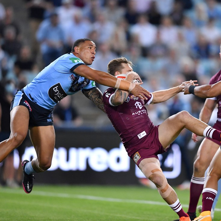 Why penalty wasn't given for tackle that left Maroons at sixes and sevens