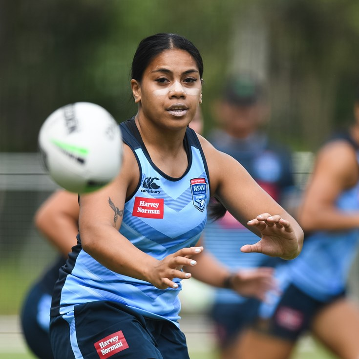 Home truths keep Togatuki grounded as she prepares for Origin debut