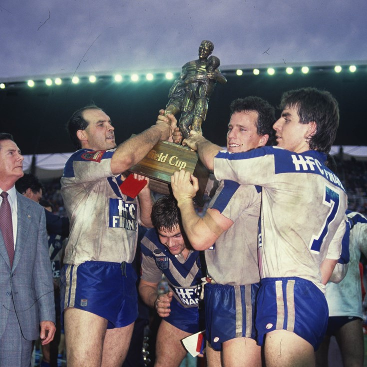 1988 grand final rewind: Bulldogs finalise case for Team of '80s honour