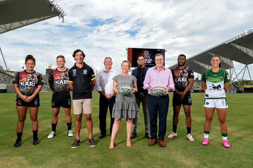 The NRL All Stars game will be played in Townsville in February.
