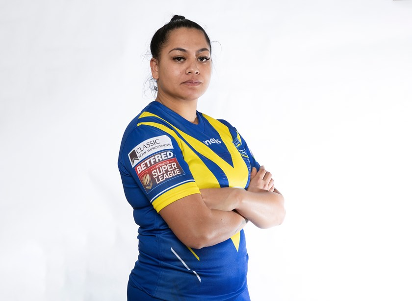 Warrington forward Roxy Murdoch.