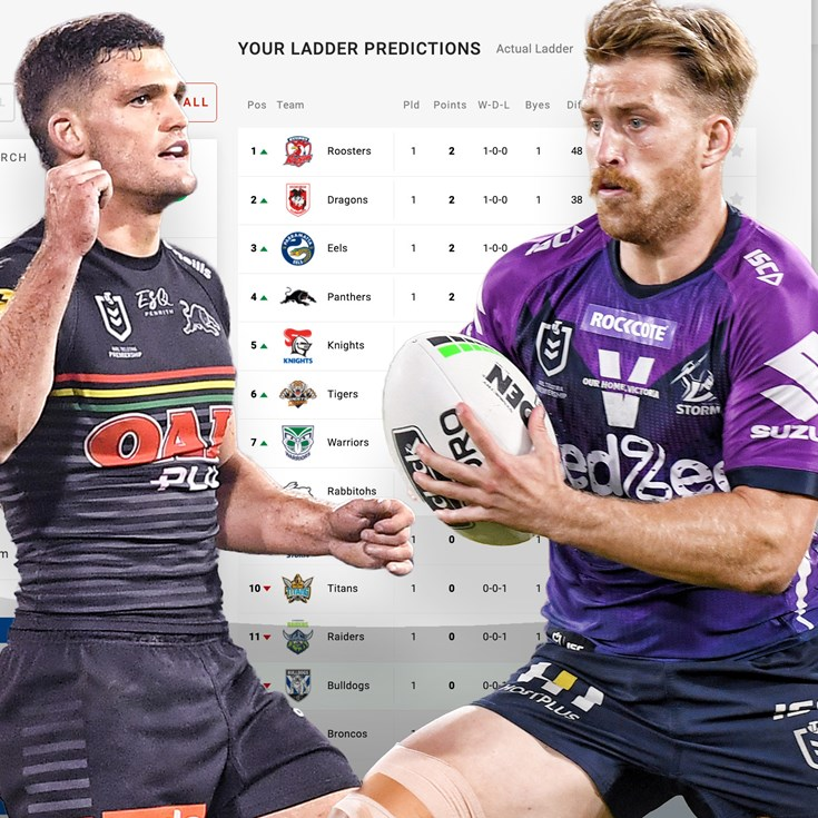 Ladder predictor: More fans tipping Panthers for title after hot start