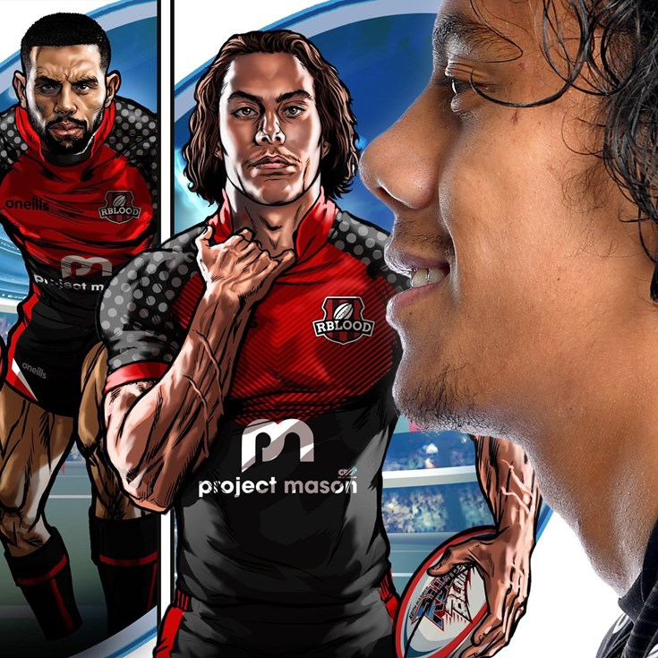 'Triple agent' Luai to become comic book hero