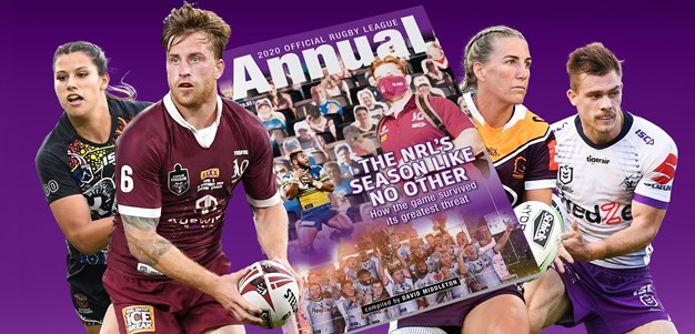 2020 Official Rugby League Annual: The tradition continues
