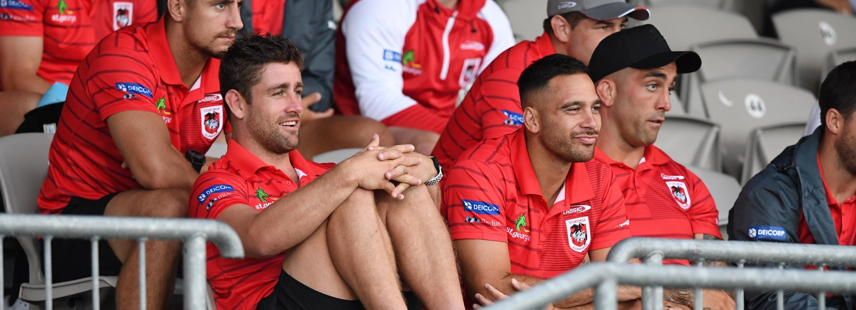 Old mates help make McCullough's Dragons move seamless