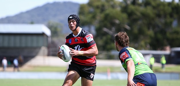 Instant impact for Suaalii with try in senior debut
