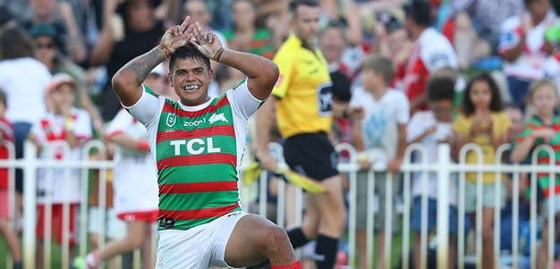 Mitchell, Walker star as Dragons humbled by Rabbitohs