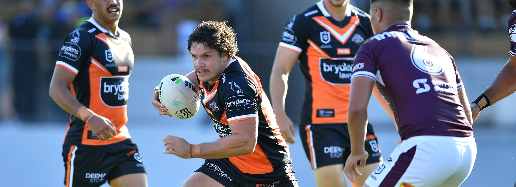 Wests Tigers centre James Roberts.