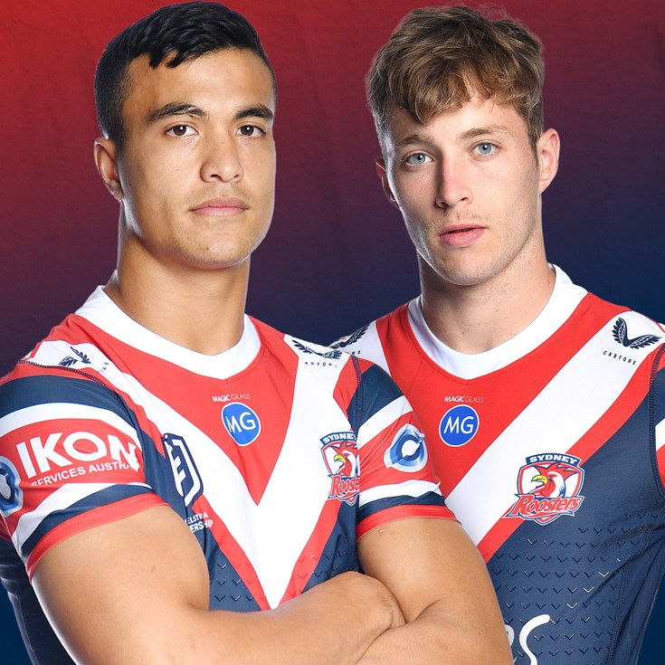 517-day wait over for Walker as Roosters roll out teen sensation Suaalii