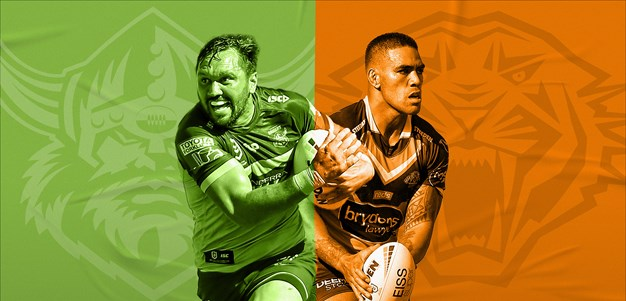 Raiders v Wests Tigers: Croker a chance; Mbye doubtful