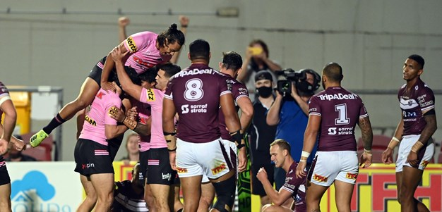 Kikau, Luai star as Panthers bury Manly at Lottoland