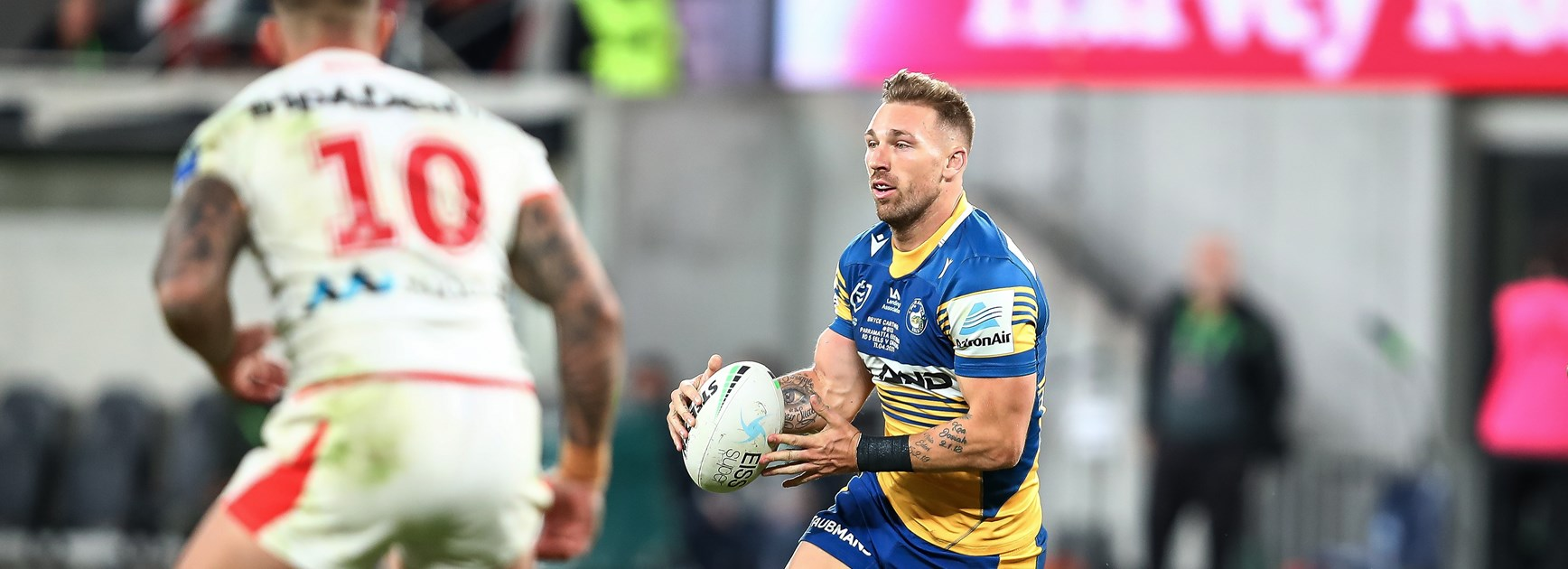 Bryce is right: Cartwright hungrier than ever as he repays Eels
