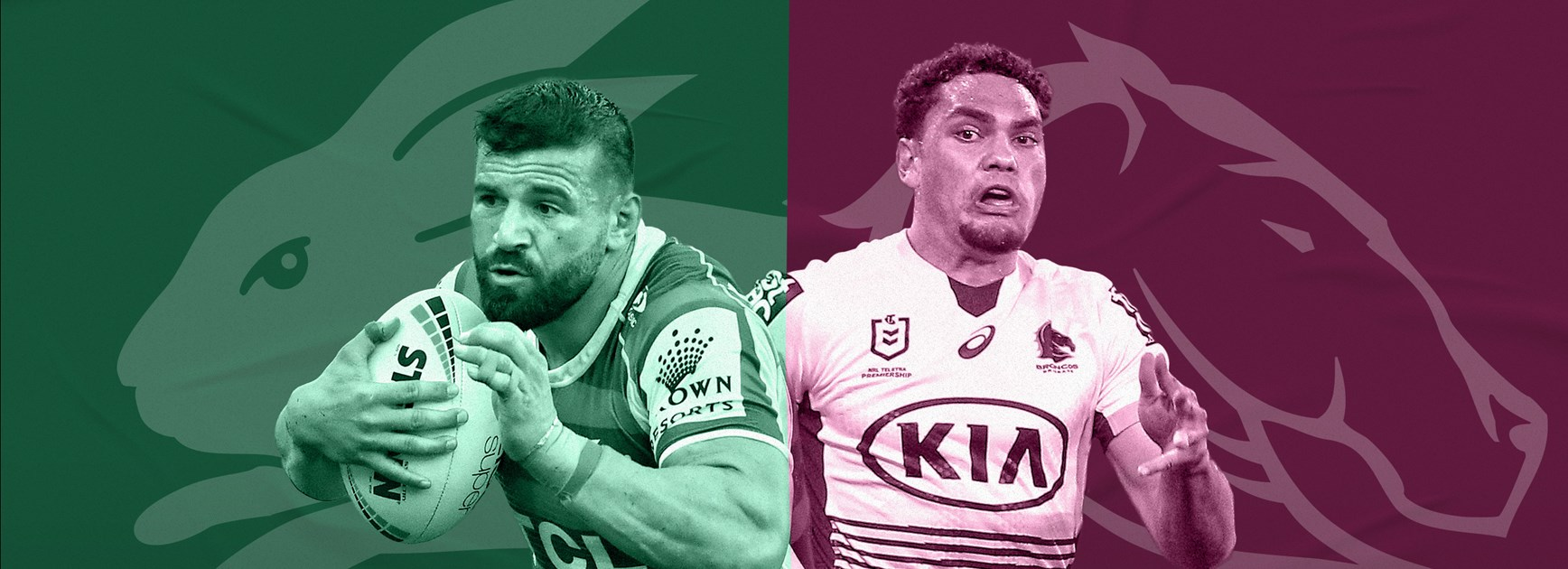 Rabbitohs v Broncos: Marshall at five-eighth; Pangai to start
