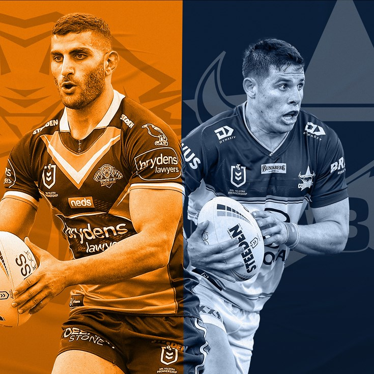 Wests Tigers v Cowboys: Taumalolo, McGuire out