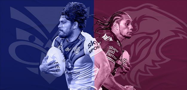 Warriors v Sea Eagles: AFB out; Cust, Boyle, Suli sidelined