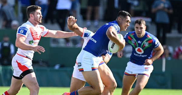 Captain's knock: RTS wills Warriors to upset win over Dragons – NRL.COM