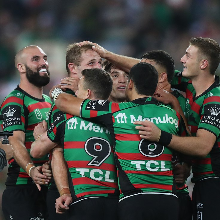 'In Tom we trust': Burgess the hero as Souths break Tigers hearts in golden point