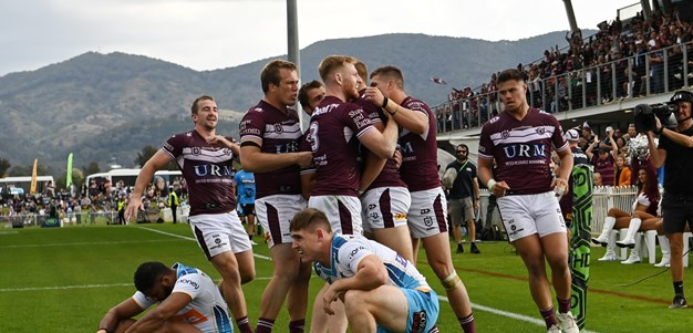 Turbo charged: Trbojevic's dream return as Manly rout Titans