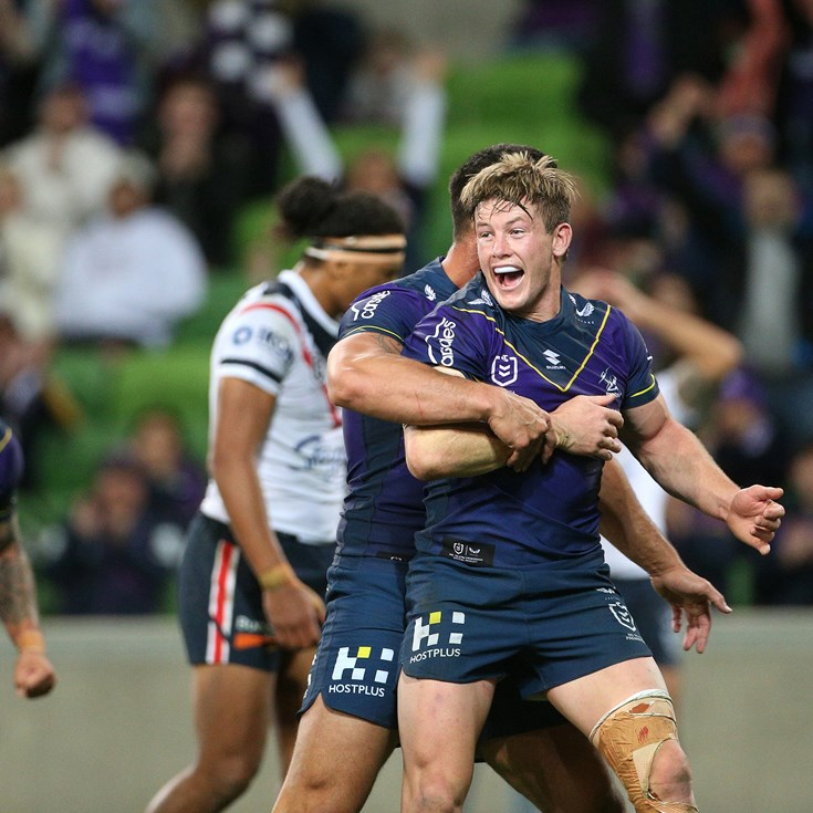 Grant guides Storm to dominant win over Roosters