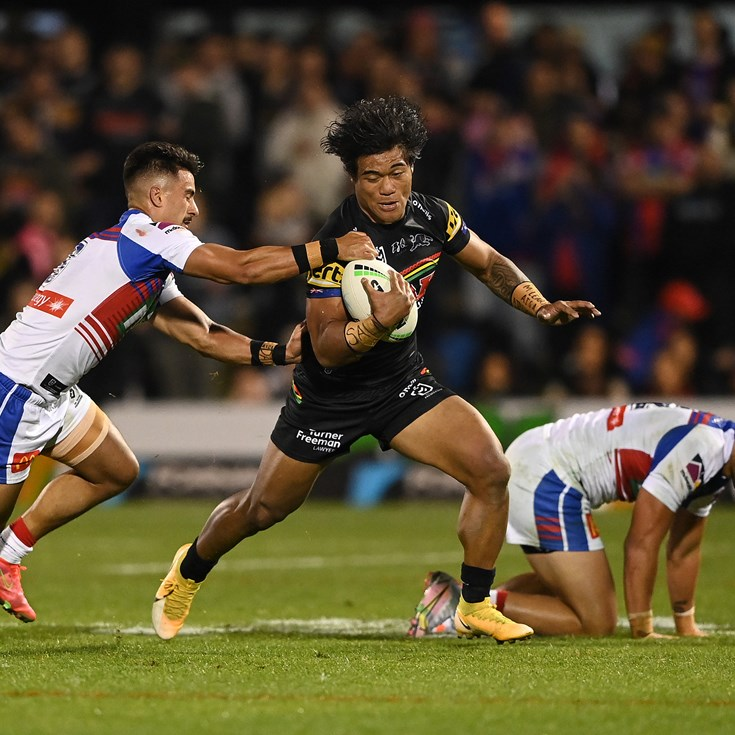 Nathan Cleary gives Brian To'o the ultimate praise