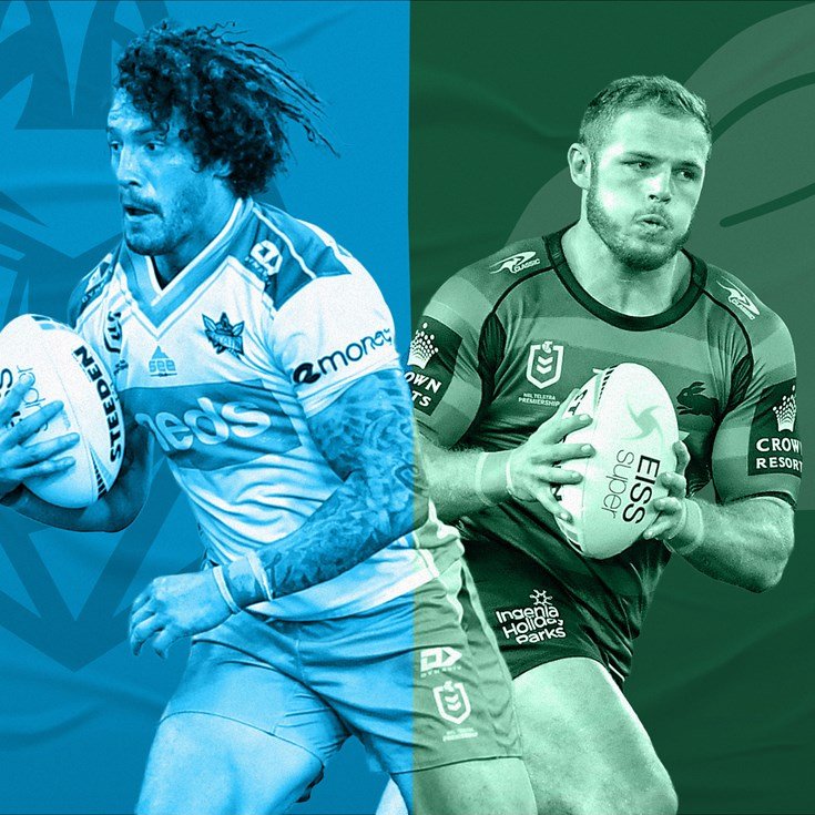 Titans v Rabbitohs: Is Don, is good to go; Bunnies shuffle backline