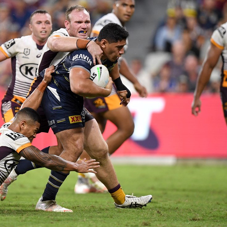 Broncos beatdown: Taumalolo charging towards top form leading into 200th game