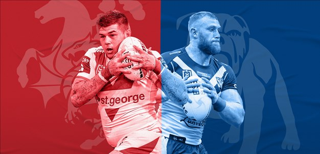 Dragons v Bulldogs: Duo to debut; Napa ruled out