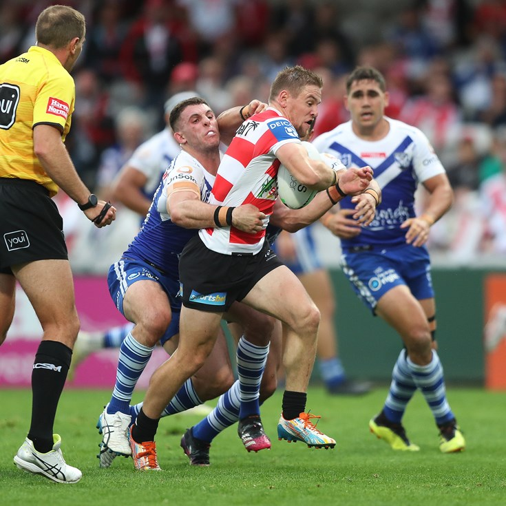 Dragons blow away benign Bulldogs