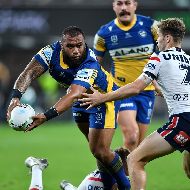 'Find a pass': Eels look to move the footy more after Raiders setback