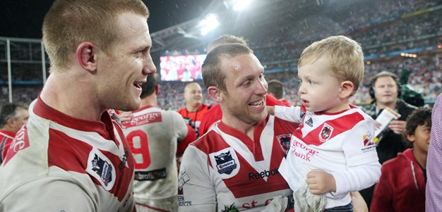 Premiership heroes inducted into Dragons' Legends Walk