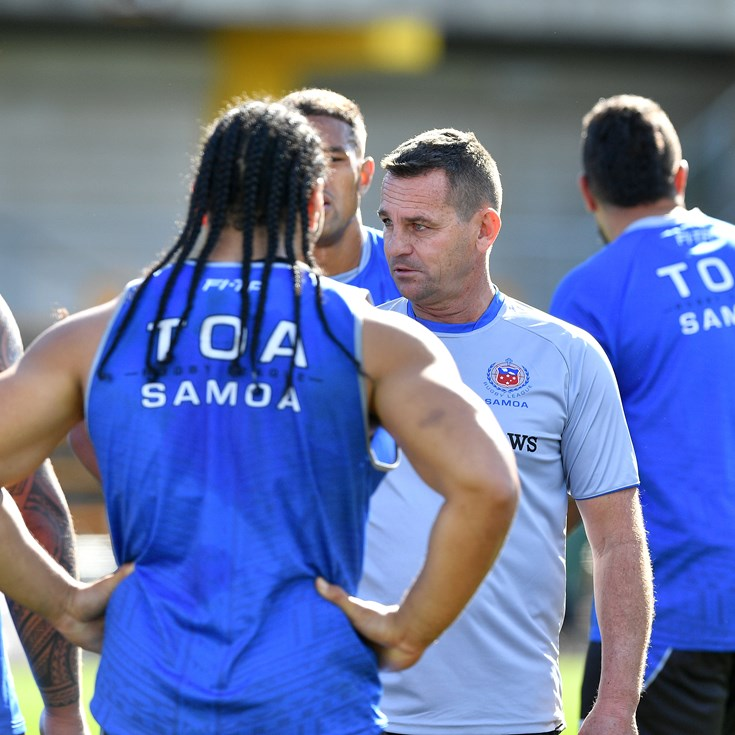 Parish excited about SBW-Johns dream team joining Samoa coaching ranks
