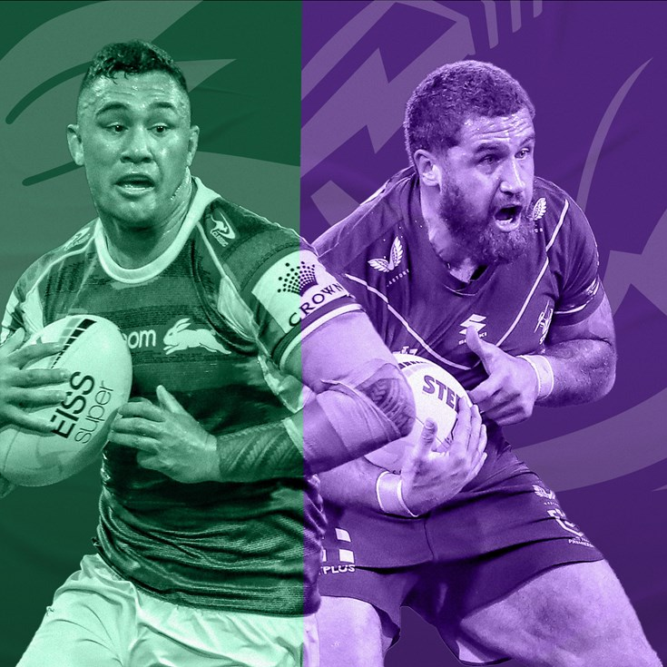 Rabbitohs v Storm: Mass backline changes; NAS, Jennings back in 17
