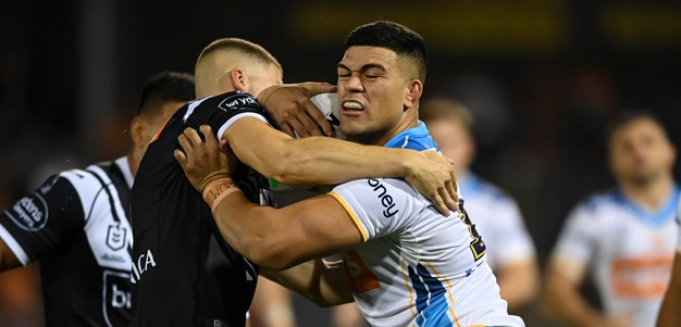 Titans sweat on Fifita after outgunning Tigers in tryfest