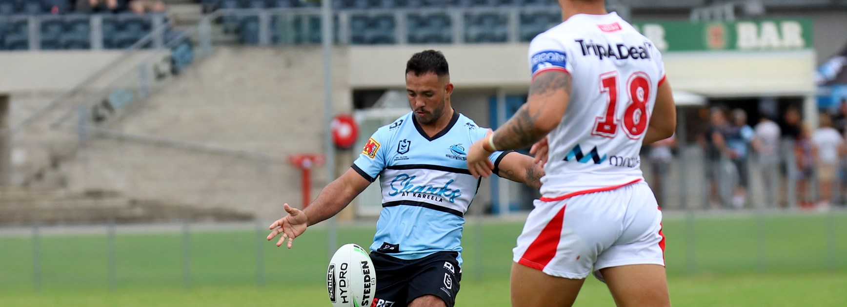 Trindall's tricks spark Sharks but Sullivan loses no admirers