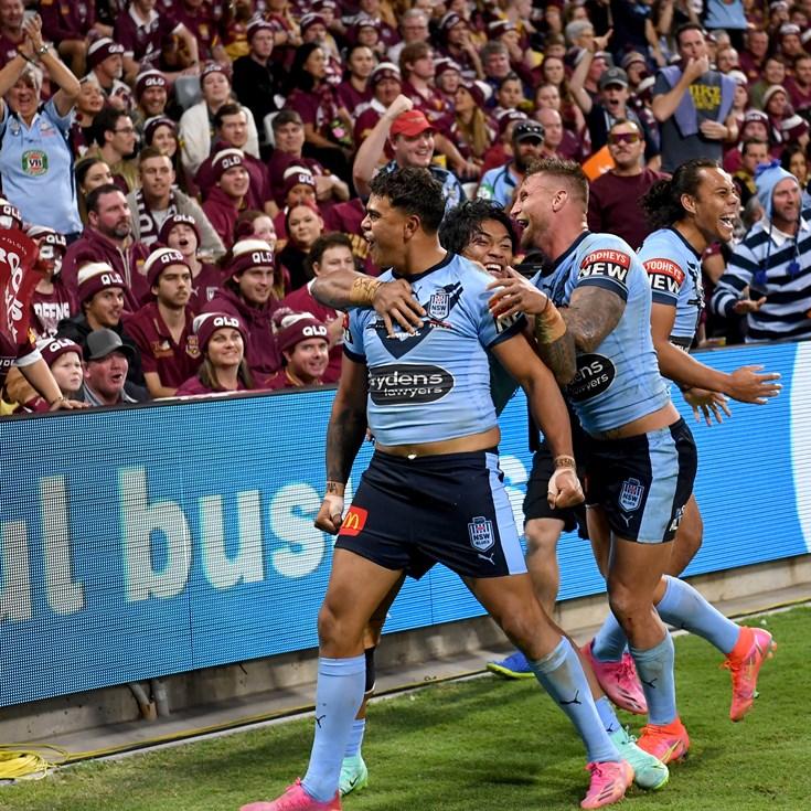 Blues rack up biggest win