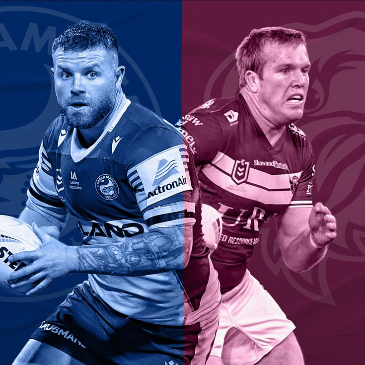 Eels v Sea Eagles: Moses a lucky seven; Cust wins pivotal selection battle
