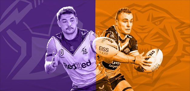 Storm v Wests Tigers: NAS, Bromwich head reinforcements