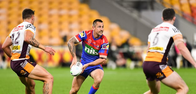 Pearce guides Knights to win over gritty Broncos