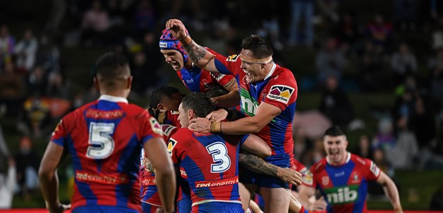 Knights pip Titans by a point to secure finals berth