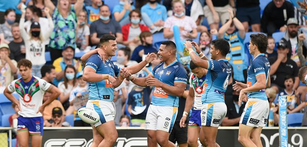 Titans earn place in finals after outclassing Warriors