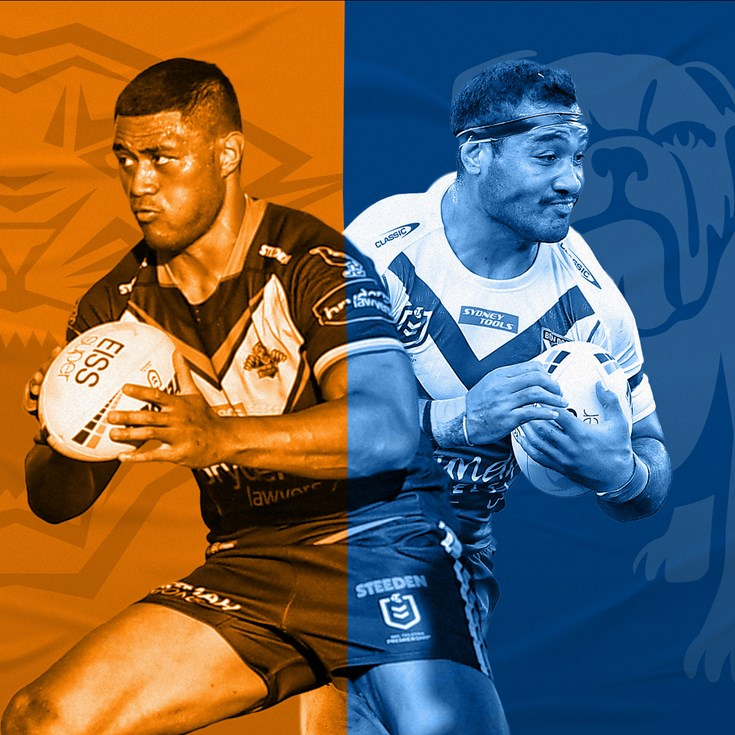 Wests Tigers v Bulldogs preview: Seyfarth sidelined; Waddell in