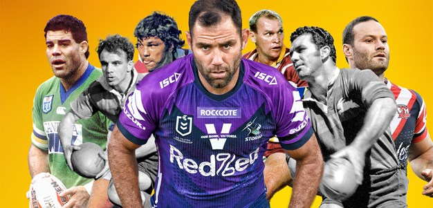 Leader of men: Smith voted rugby league's greatest captain