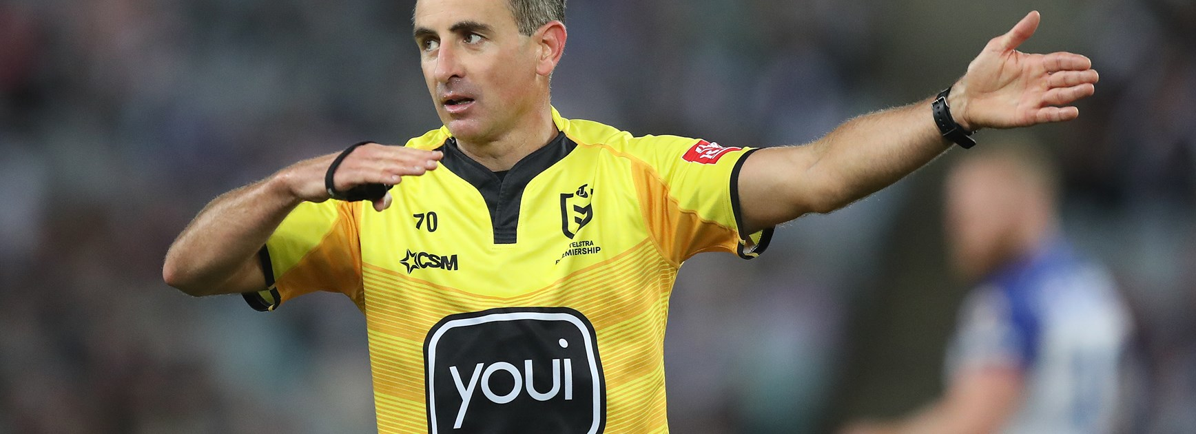 'Favourite place in the world to referee': Sutton ready for decider