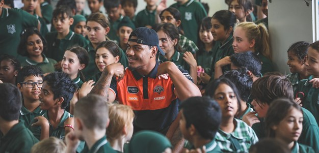 NRL stars spreading rugby league gospel at Community Blitz