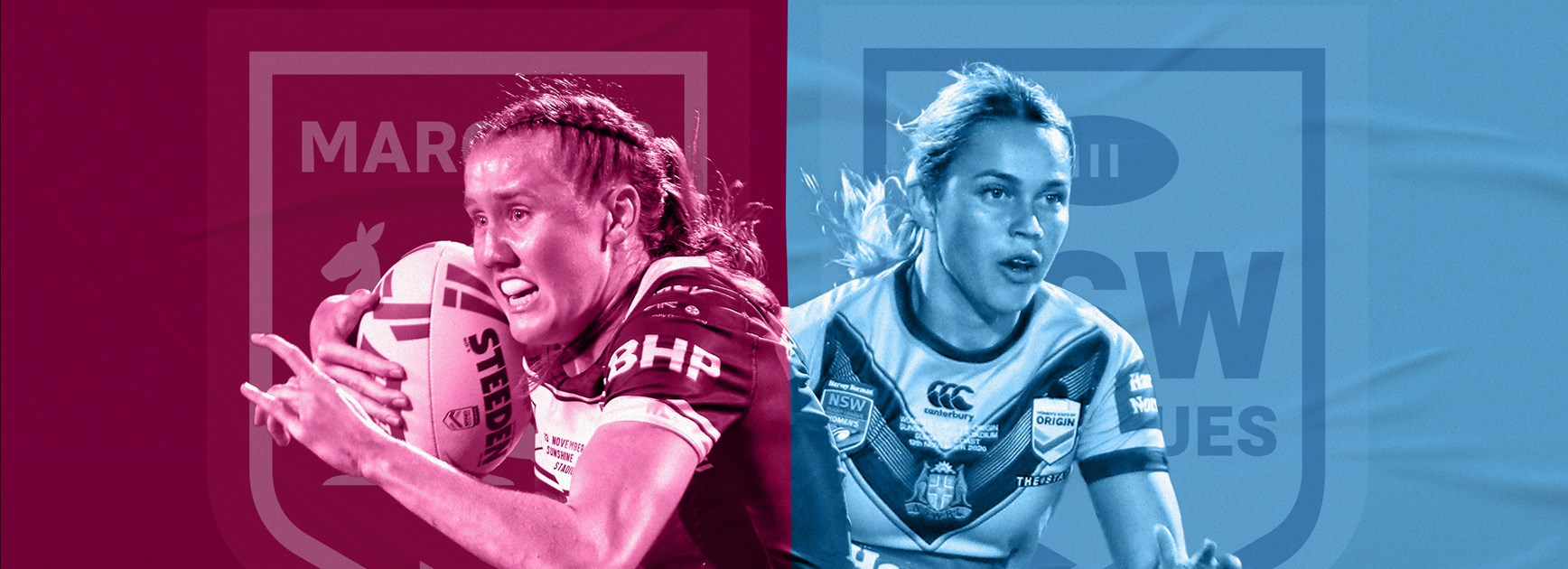 Maroons v Sky Blues: Peters, Harden late call-ups; NSW 1-17