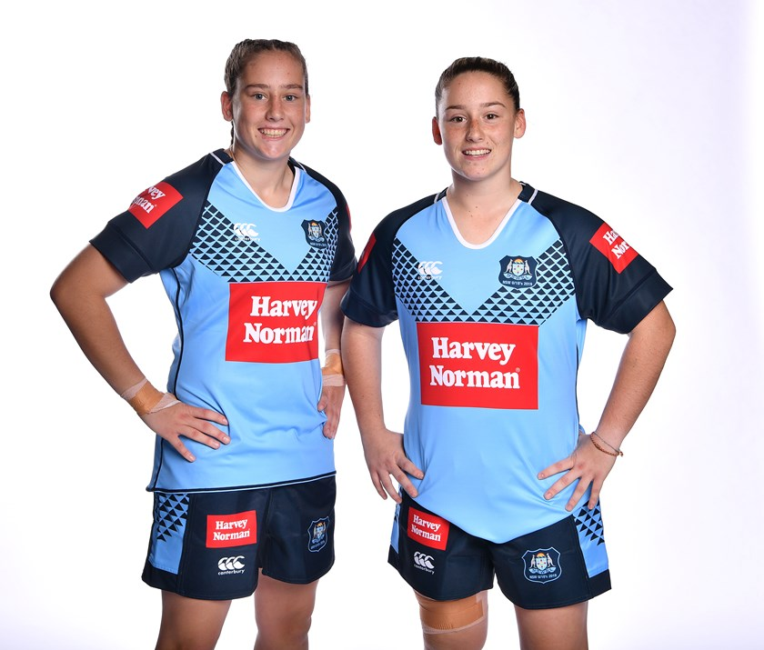 Emily and Sophie Curtain represented NSW under 18s in 2019.