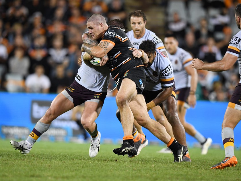 Wests Tigers prop Russell Packer